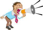 Shout! — Stock Vector