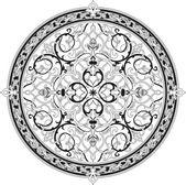 Arabic floral pattern motif Arabic floral pattern motif — Stock Vector