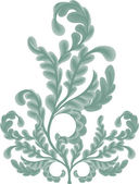Oak leaves Illustration — Stockvector