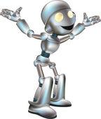 Ilustração de robô bonitinho — Vetor de Stock