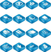 Applications Icon Series Set — Stock Vector