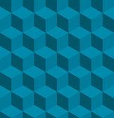 Modèle transparente cube isométrique tilable — Vecteur