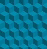 Seamless tilable isometric cube pattern — Stockvector
