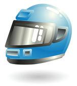 Motorcycle helmet Illustration — Stock Vector