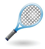 Tennis racket — Stock Vector