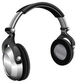 Large DJ Headphones — Stockvector