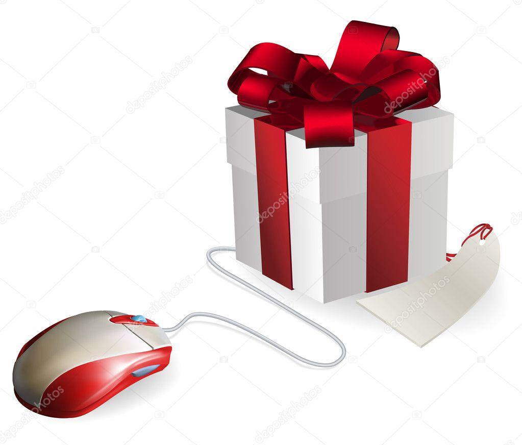 Cadeau de souris dordinateur image vectorielle krisdog - Ou acheter du papier cadeau ...