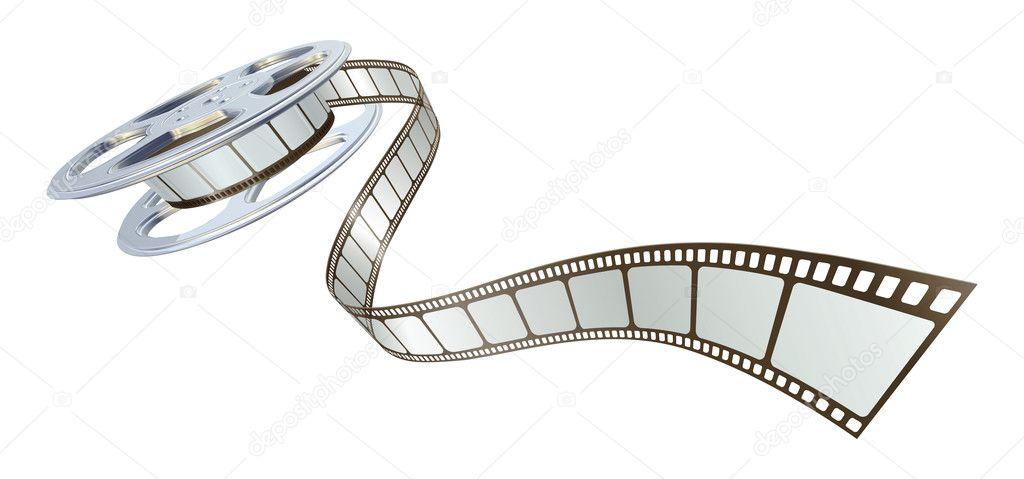 Depositphotos6579435 movie film spooling out of film reel