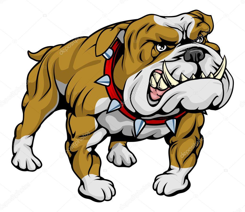 Ilustracin Imgenes Prediseadas Bulldog Vector De