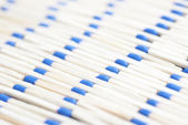 Pattern Of Blue Headed Matches — Stock Photo