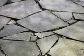 Flag Stone Pattern As Pavement — Stock Photo