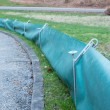 Stock Photo: Toad Fence For AmphibeProtection