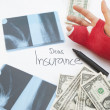 Stock Photo: Dear Insurance... Cost Of Healthcare Concept