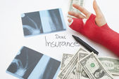 Dear Insurance... Cost Of Healthcare Concept — Stock Photo