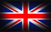 UK flag — Stock Photo