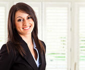 Beautiful businesswoman portrait — Stock Photo