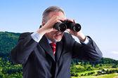 Op zoek naar nieuwe mogelijkheden — Stockfoto