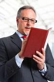Businessman portrait — Stock Photo