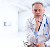 Doctor portrait — Stock Photo