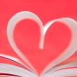 Book of love — Stock Photo