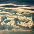 Stock Photo: Cumulonimbus clouds at summer