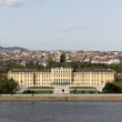 Schoenbrunn from above — Stock Photo