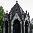 Stock Photo: Decayed mausoleum