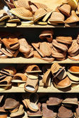 Stacked sandals — Stock Photo