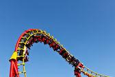 Roller coaster binmek — Stok fotoğraf