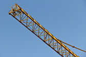 Detail of a crane — Stock Photo