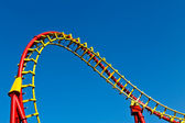 Roller coaster curve — Stock Photo