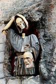 Beheaded monk — Stock Photo