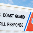 Stock Photo: Coast guard Spill Response