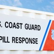 Coast guard Spill Response — Stock Photo #6445149
