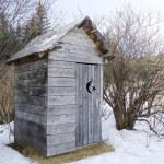 Alaskan outhouse — Stock Photo #6445630