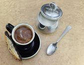 Retro coffee break — Stock fotografie