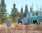 Rural Alaskan Junk — Stock Photo