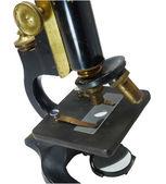 Vintage microscope — Stock Photo