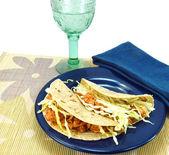 Fish tacos — Stock Photo