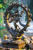 Bronze statue of Shiva Nataraja - Lord of Dance — Stock Photo