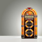 Retro Jukebox — 图库照片