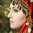 Face of oriental woman — Foto de stock #6449044