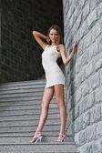 Sexy Fashion model pose — Stock Photo