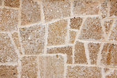 Wall of limestone — Stock Photo