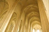Ceiling and pillar in a church — Stock Photo