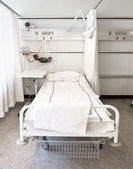 Hospital bed — Stock Photo