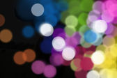 Blurred decoration lights — Stock Photo