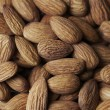 Brown almond — Stock Photo