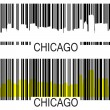 Chicago barcodes — Stock Vector