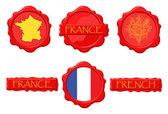 FranceWS — Stock Vector